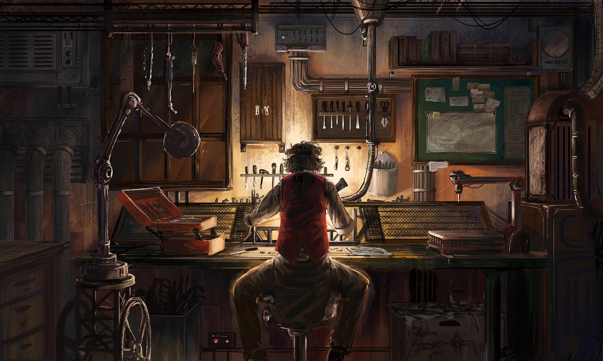 Engineer by Eiich Matsuba