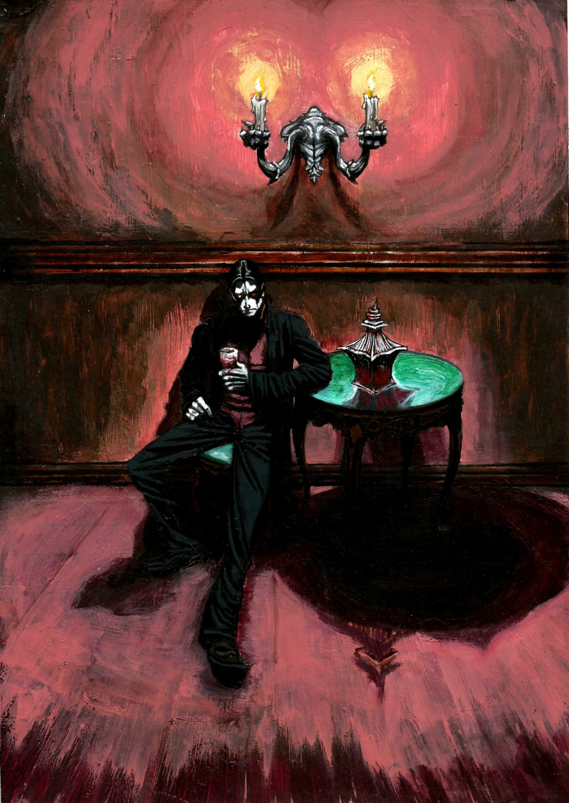 La depresión del vampiro by Alan de Tenebrya