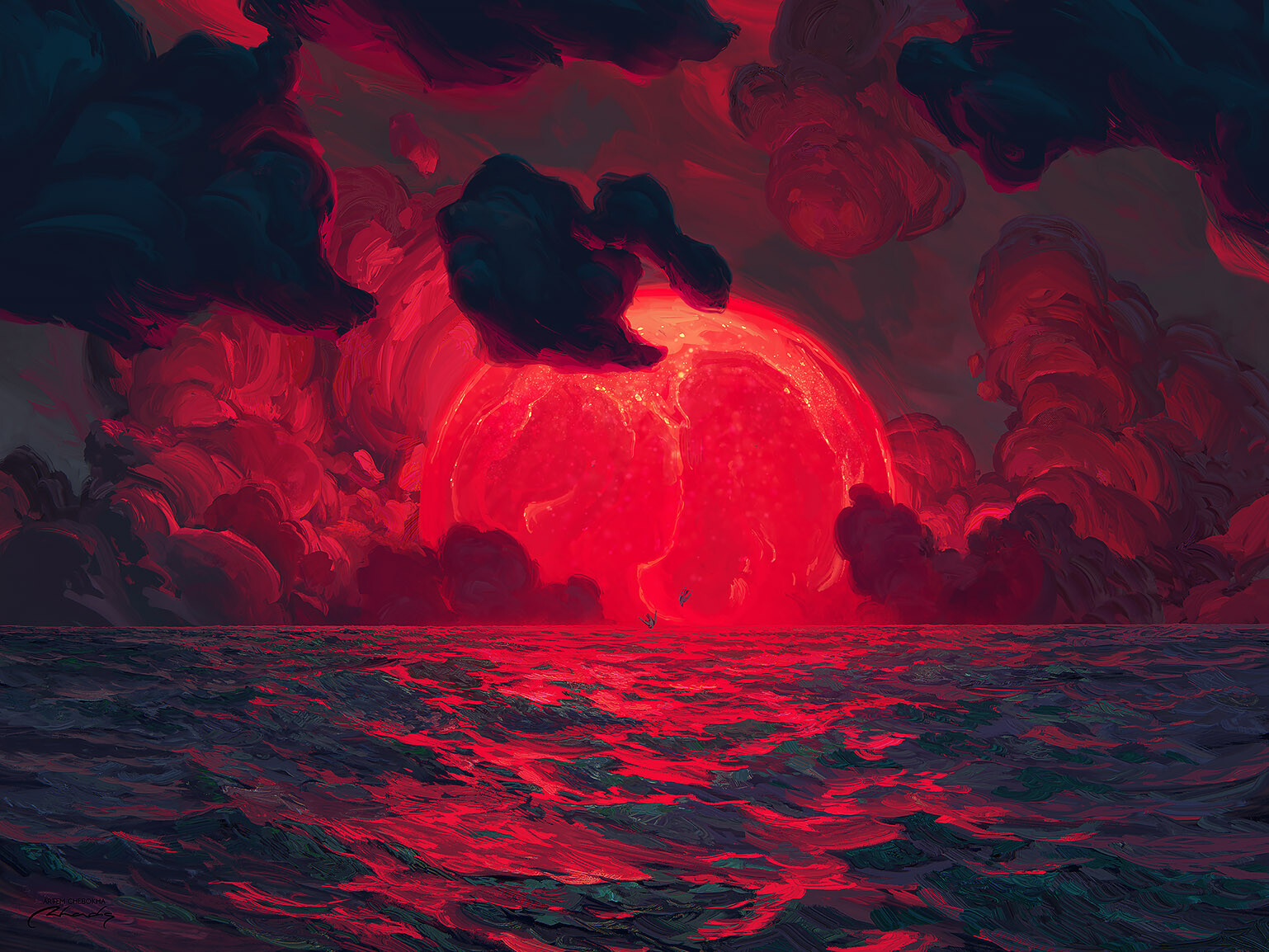 """""""Anthropogenic Sun"""" by Artem Chebokha"""
