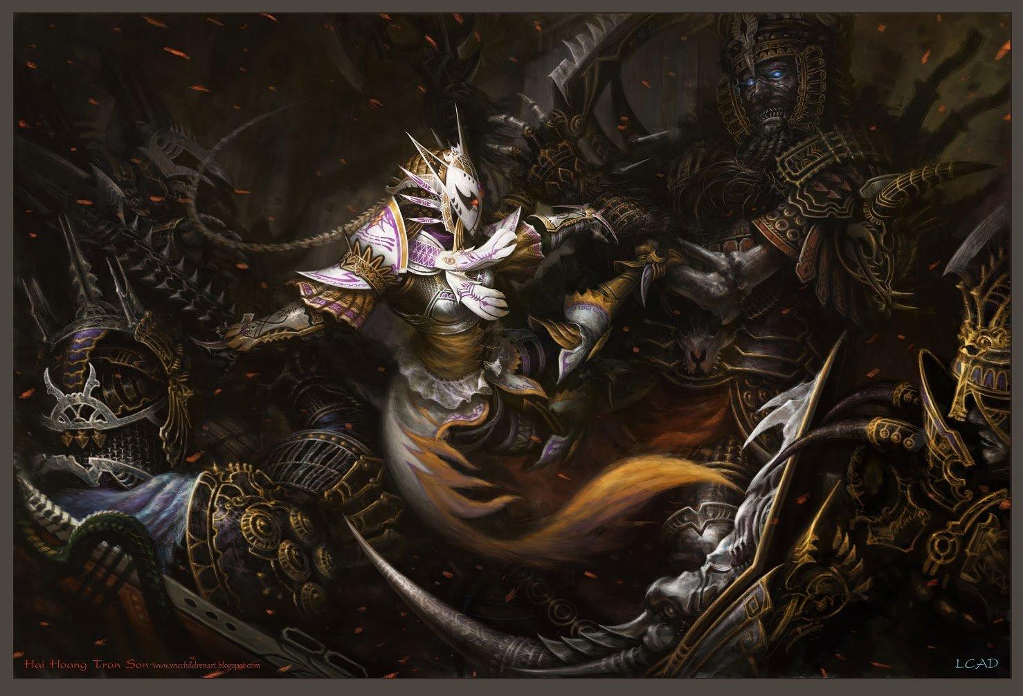The Viper Fox Assassin by Hai Hoang