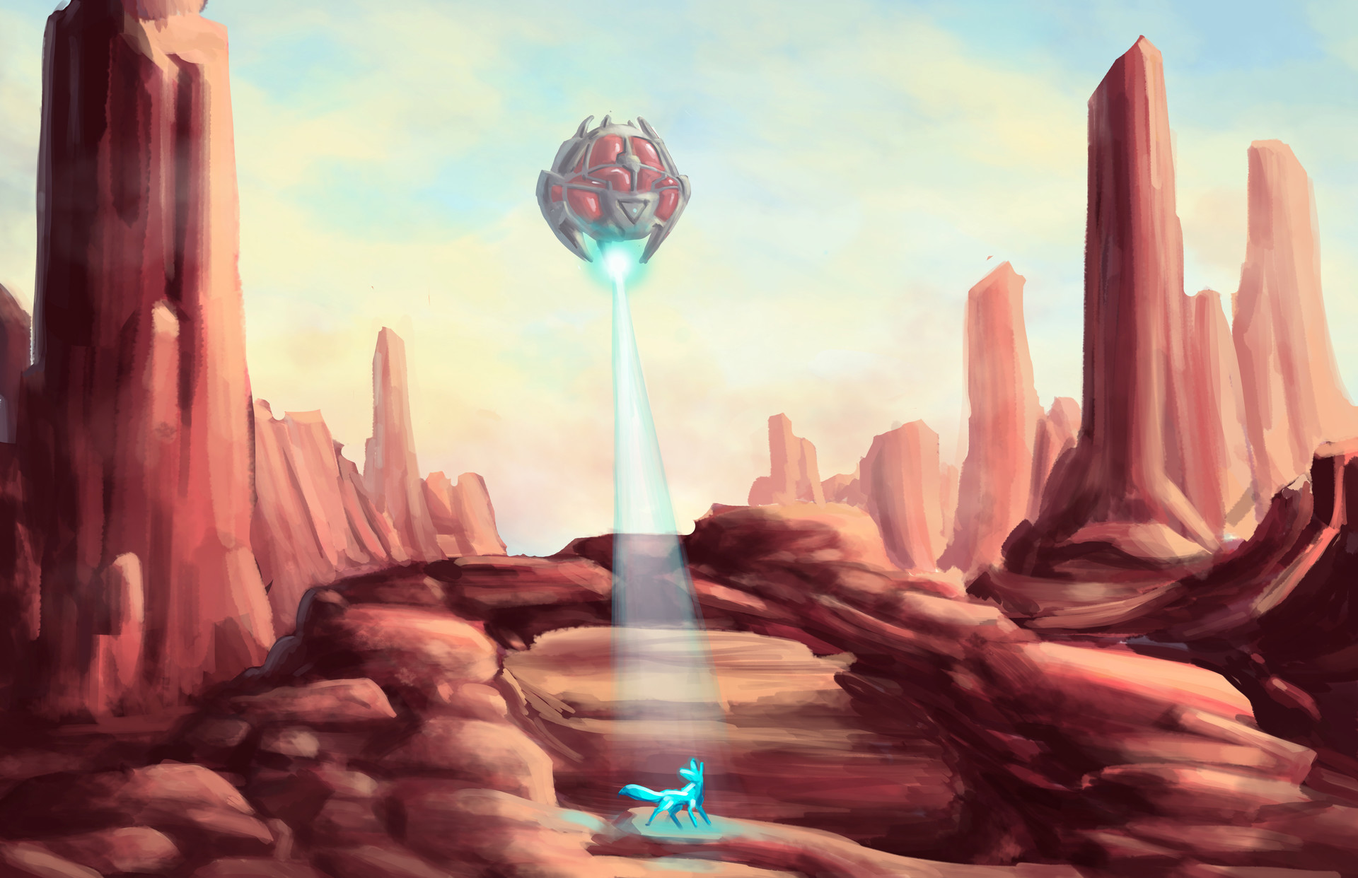 Alien Desert Megan Heartfield