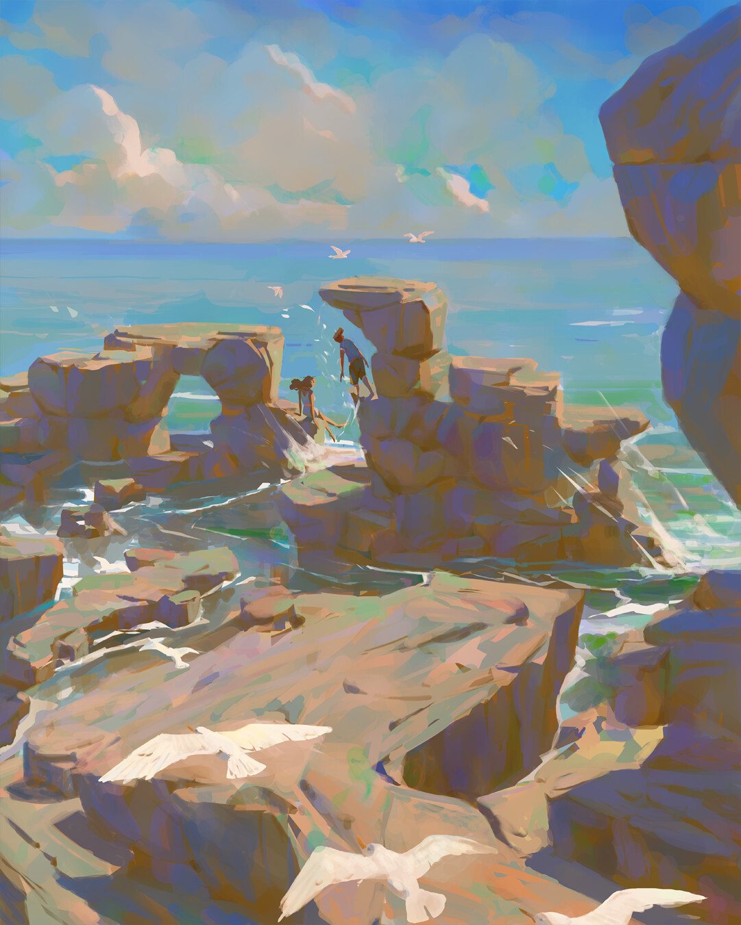 Desert Island by Slawek Fedorczuk