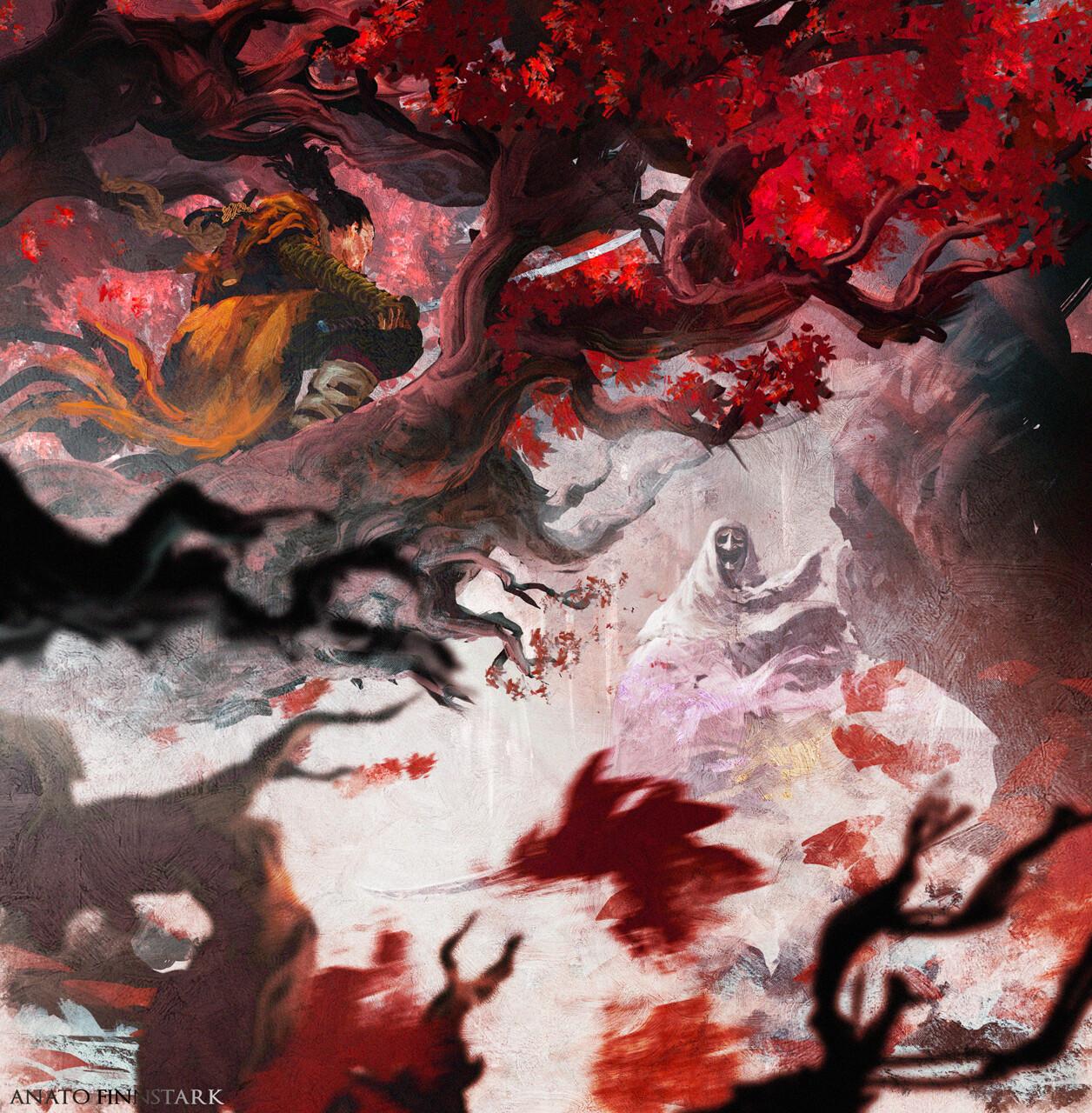 Sekiro Vs Corrupted Monk by Anato Finnstark