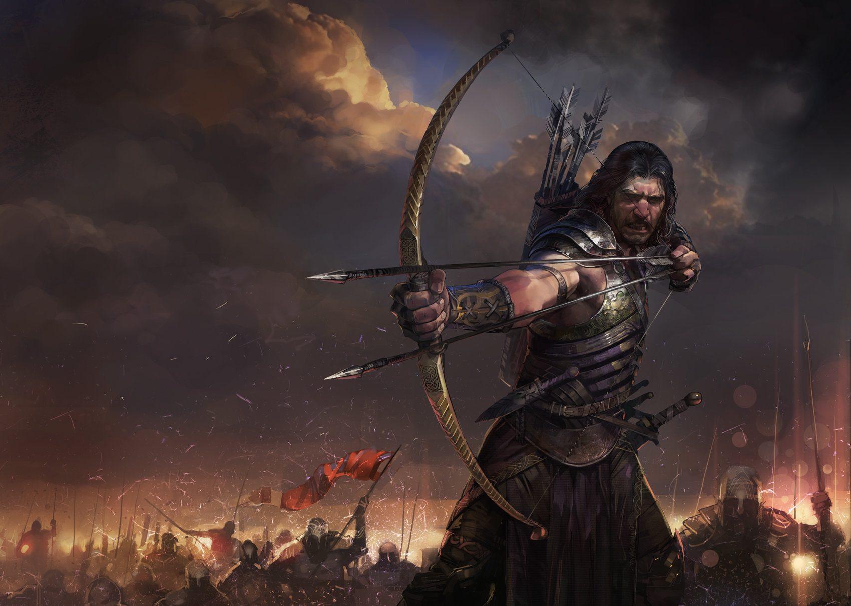 Archer by Faraz Shanyar
