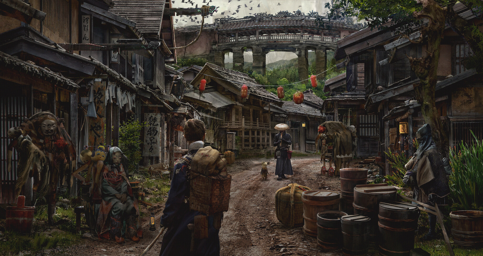 The Puppeteer's Village by Eddie Mendoza