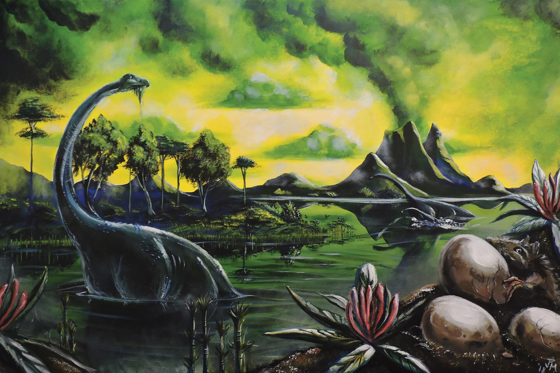 Diplodocus by James Mackey