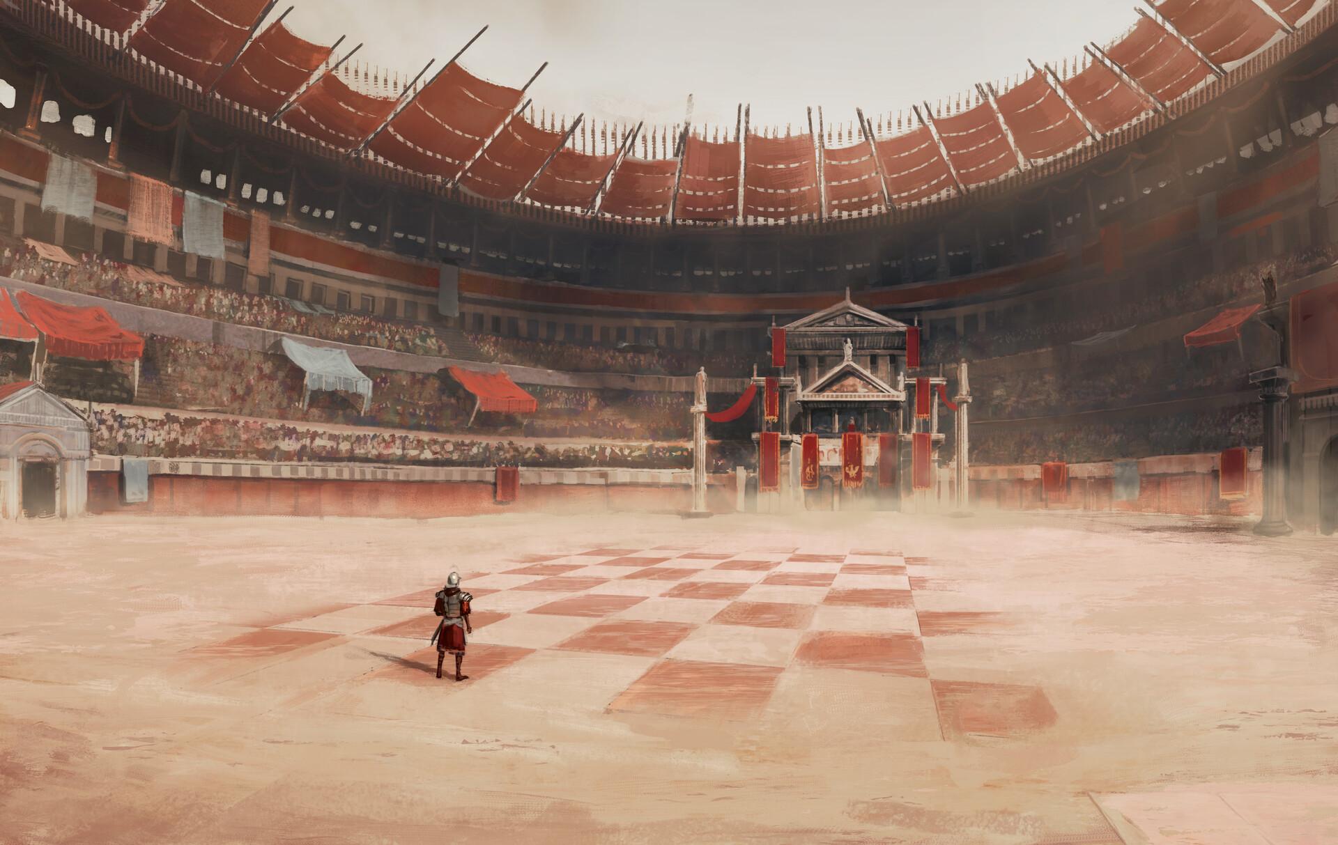 Battle chess environment by Joe Grabenstetter
