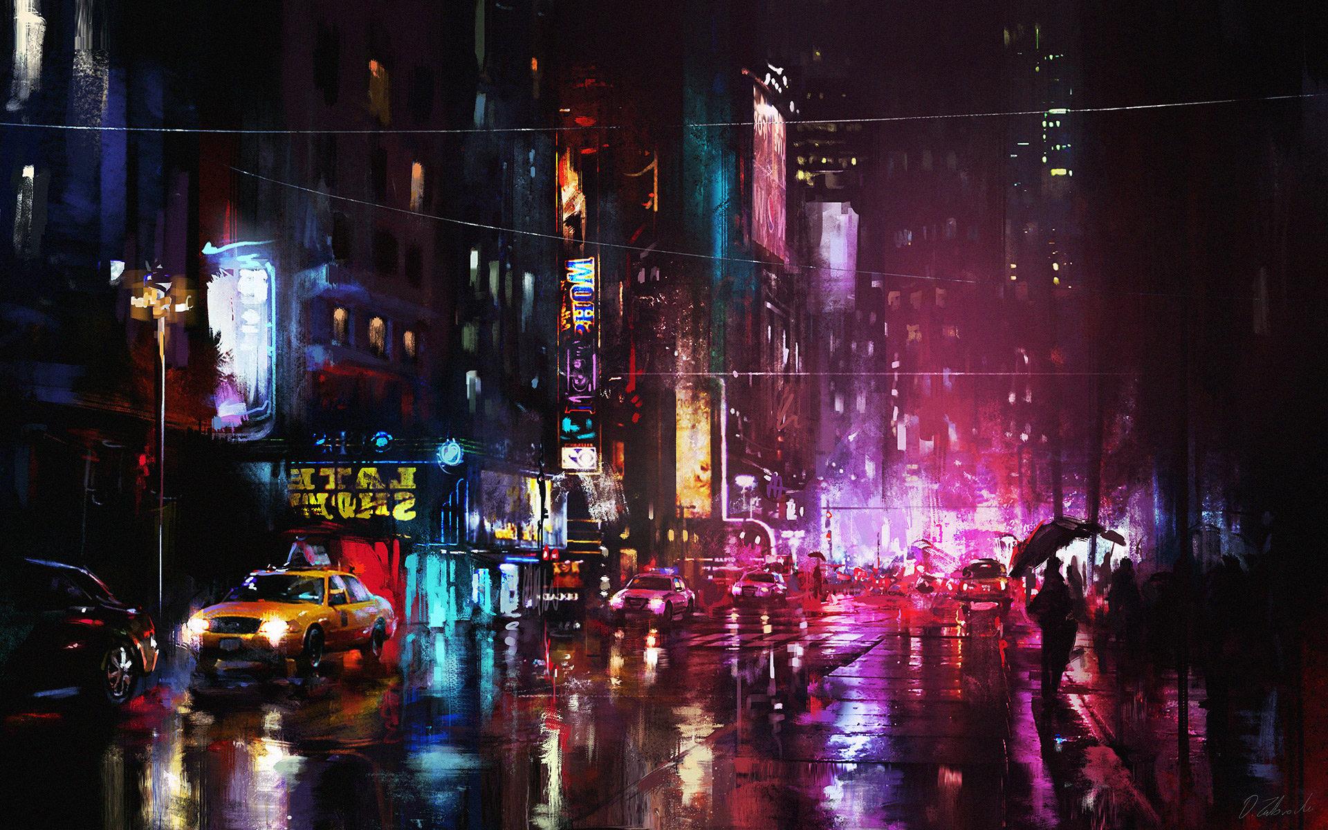 Red Lights by Darek Zabrocki