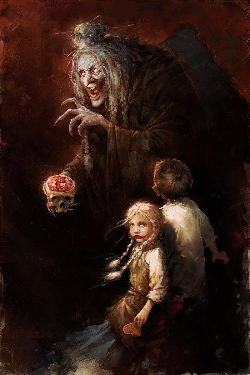 Hansel and Gretel by Blaz Porenta