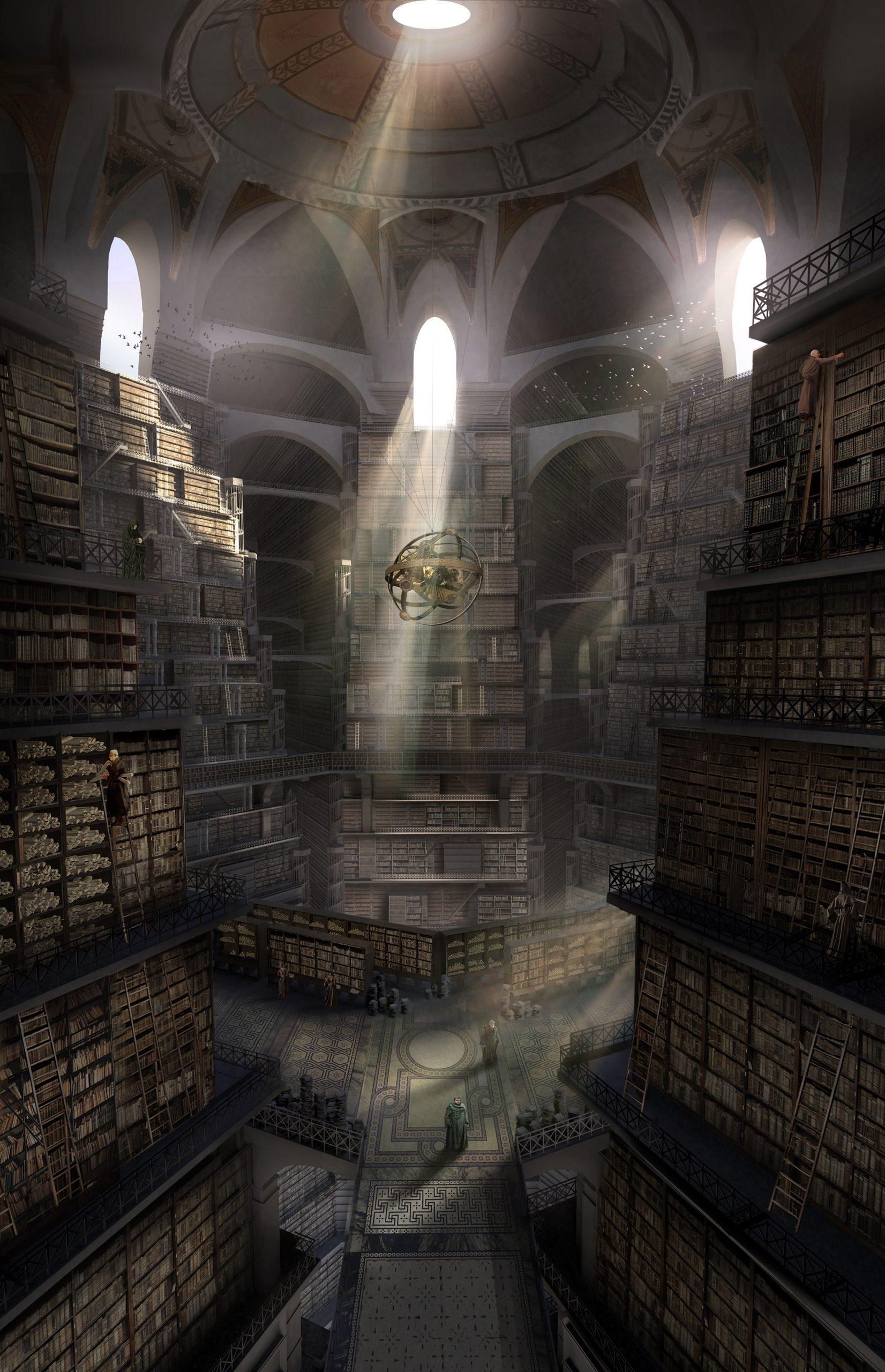 Sam enters the Citadel Library, GoT Season 6 by Kieran Belshaw