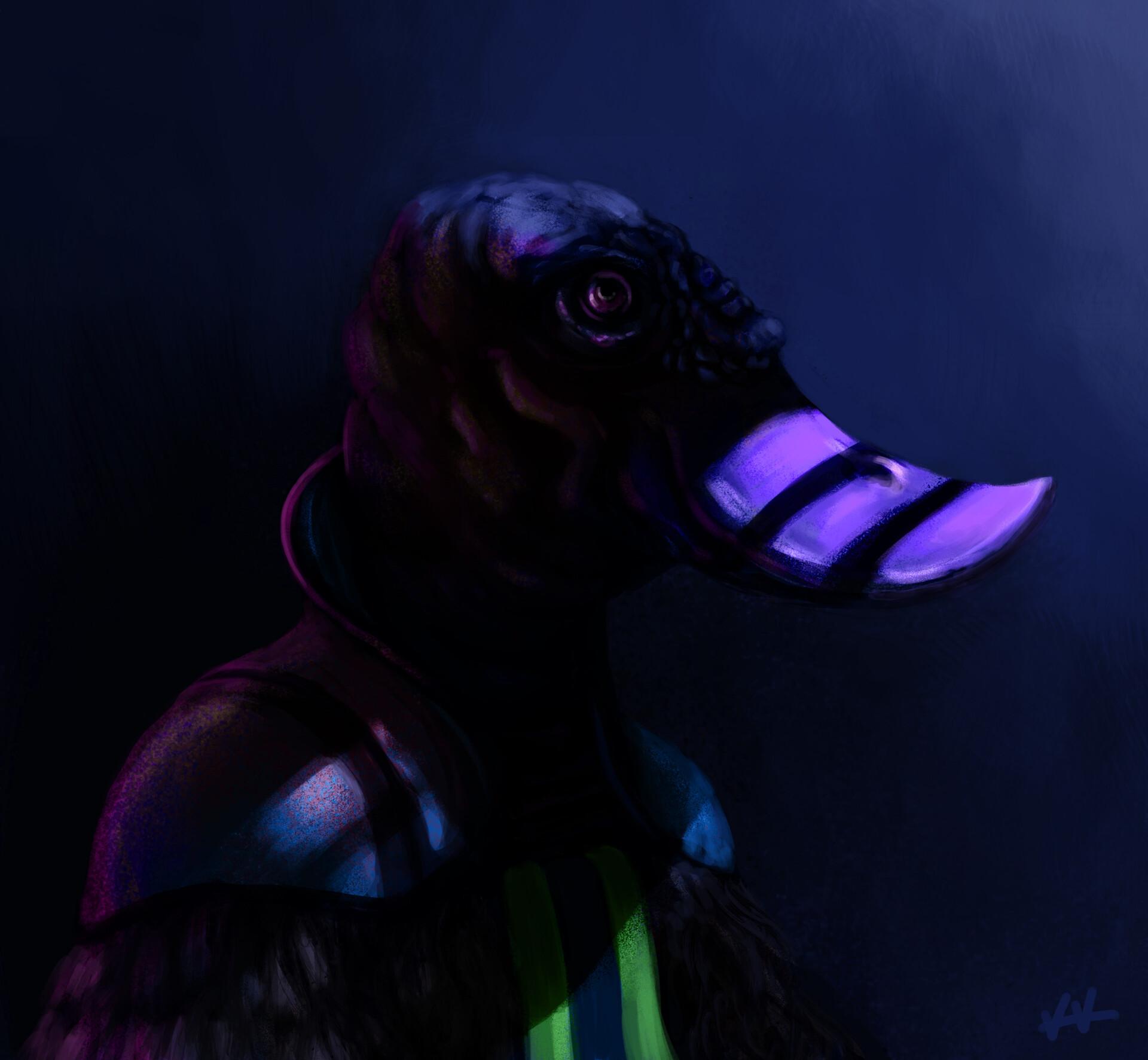 Space Duck by Karel Kunc