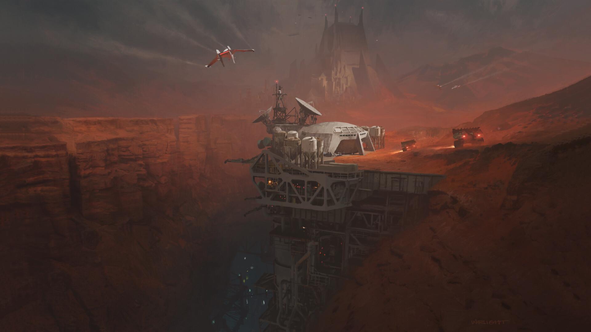 Mining Facility by Richard Wright