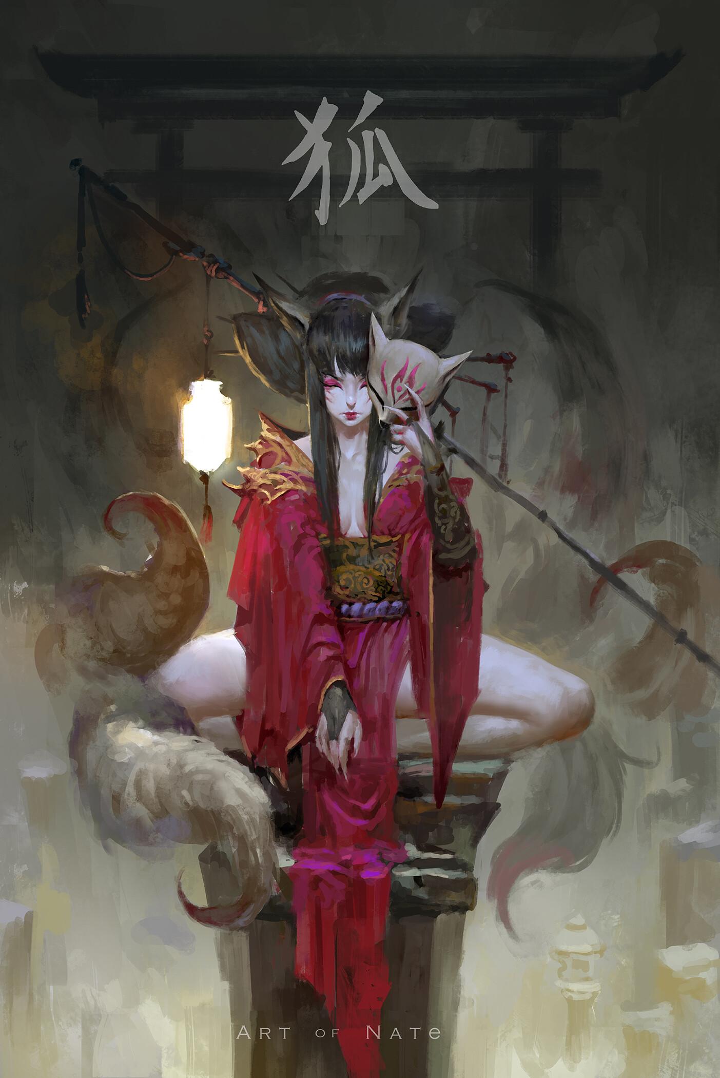 Kitsune by Art of Neight