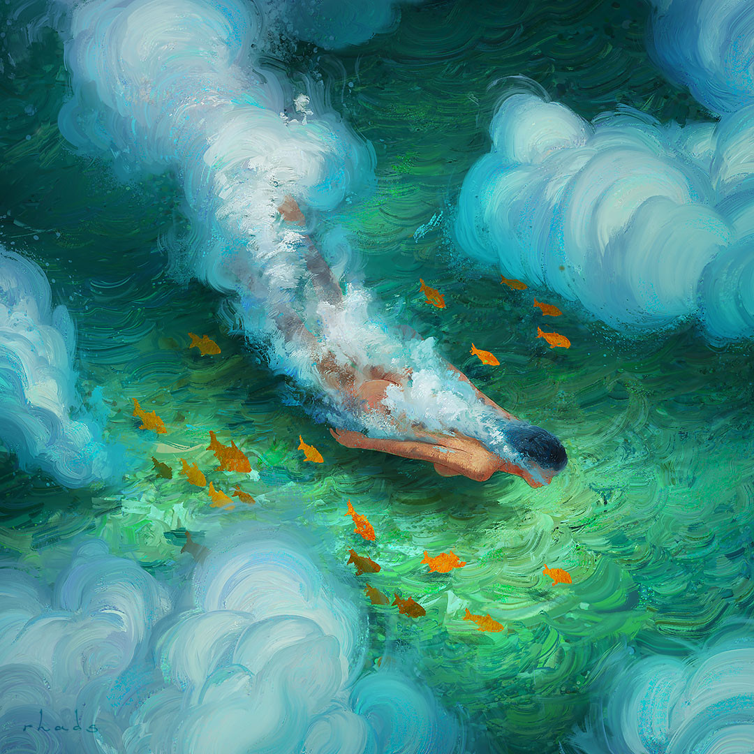 """""""Dive With Me"""" by Artem Chebokha"""
