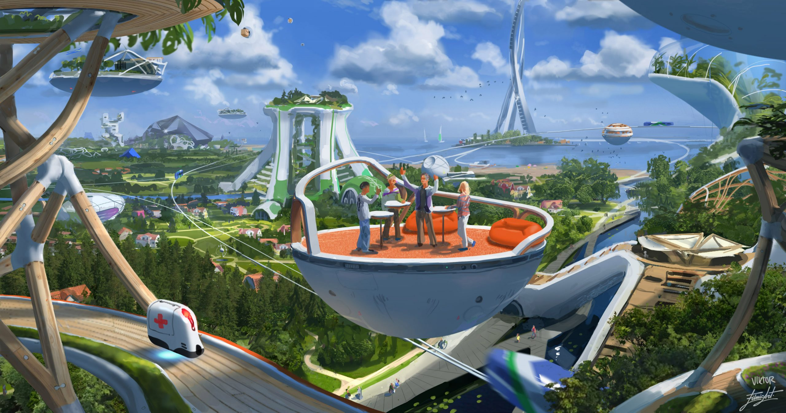 Halmstad Future by Viktor Jonsson