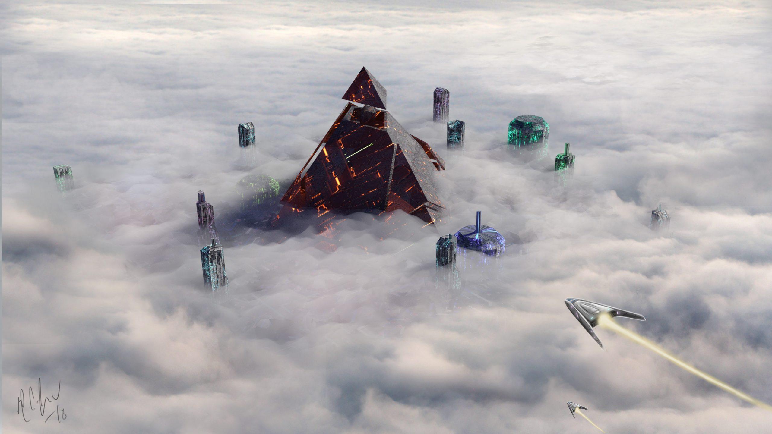 Future Pyramid by Paul Johnson V