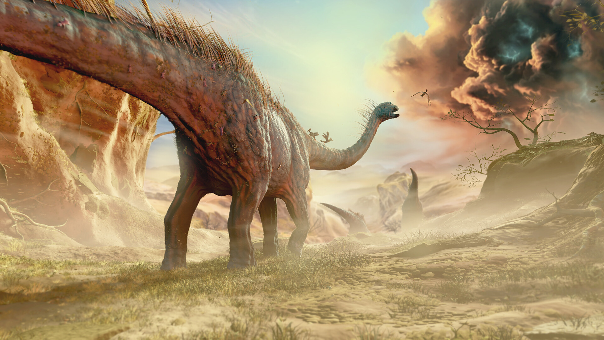 Dinosaur Animation - Last journey together by Unknown Dino